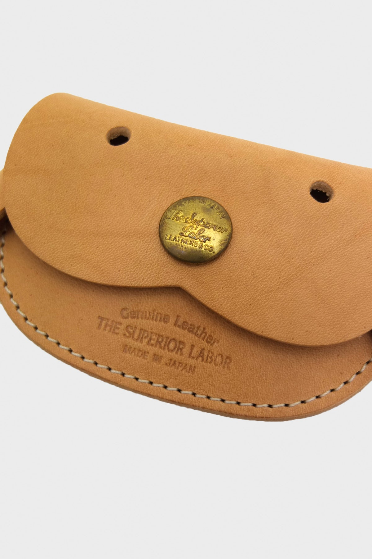The Superior Labor - Dog Coin Case - Natural - Canoe Club