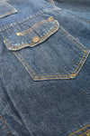 Bar C 60's Blanket Lined Denim Jacket