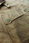 Brown 4 Pocket Belstaff Jacket