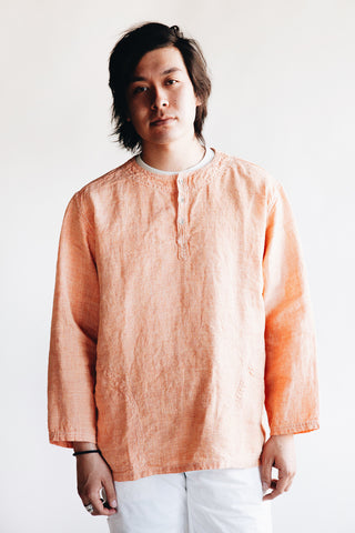 orslow Pullover Shirt - Orange