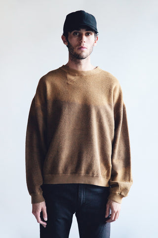 noma t.d. Breach Twist Sweatshirt - Walnut
