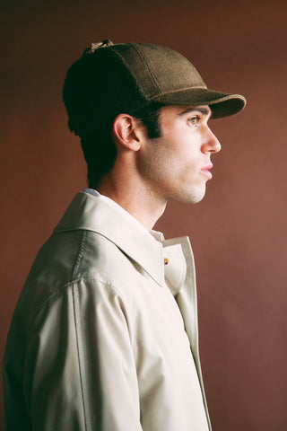 beams plus 6 Panel Boa Cap - Khaki
