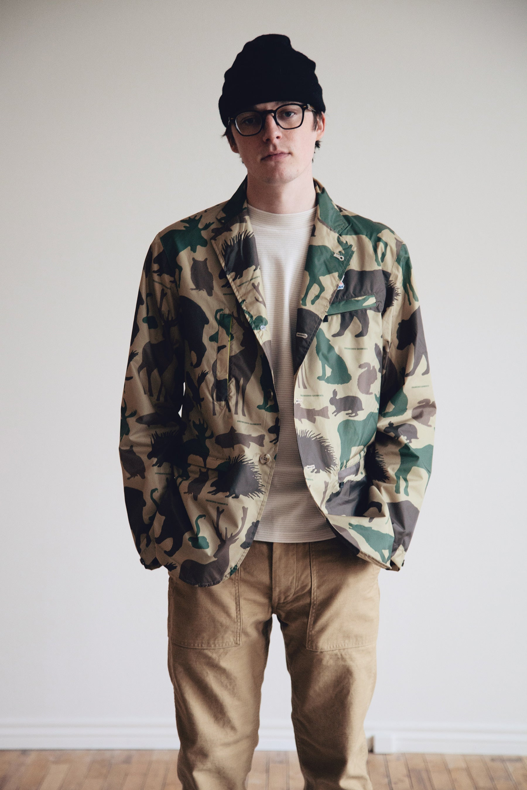 Engineered Garments - K-Way x Engineered Garments Blase - Animal Print - Canoe Club
