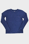 Jersey CRASH Long Sleeve Tee - Navy
