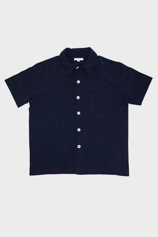 lady white co Pique Pocket Polo - Navy