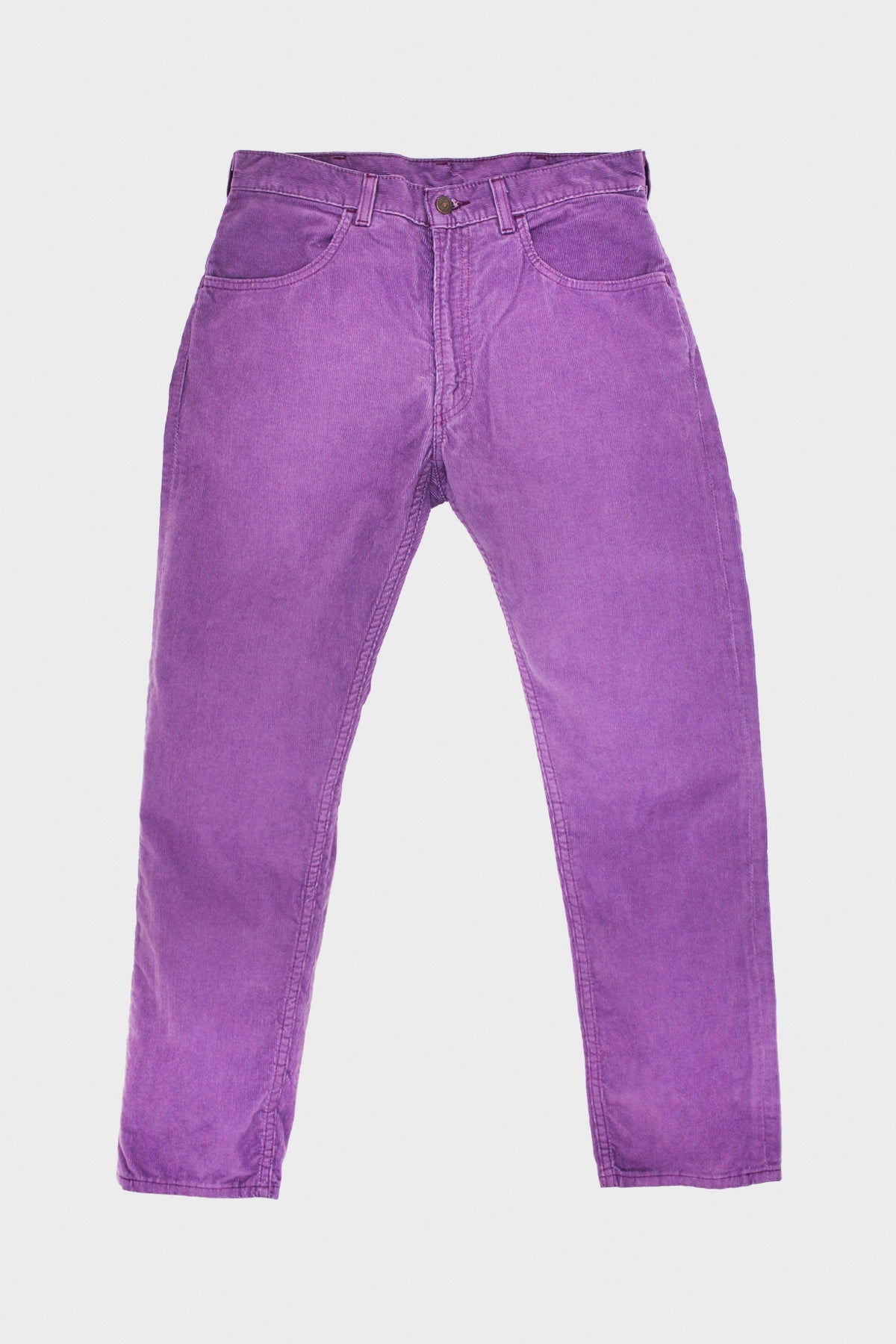 levi's vintage clothing 1970's 519 Cords - Grape Jam