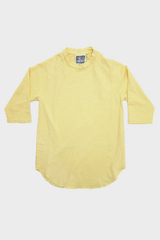 Jungmaven Raglan 3/4 Sleeve - Pale Yellow