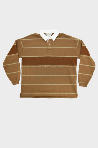 Remi Relief Striped Jacquard Rugger Shirt