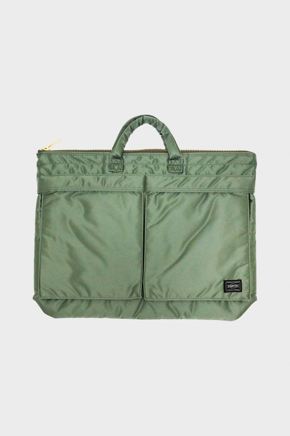 Porter Yoshida and Co - Brief Case - Sage Green - Canoe Club