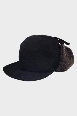 beams plus 6 Panel Boa Cap - Black
