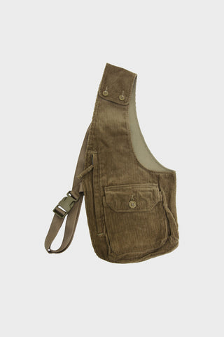 engineered garments Shoulder Vest - Khaki Corduroy