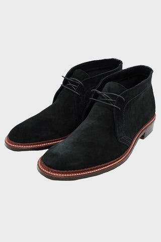 alden shoes Chukka Boot - Oiled Leather Flexwelt Sole - Snuff Suede