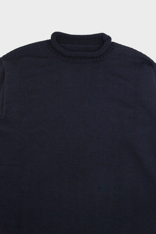 arpenteur Dock Sweater - Merino Wool Heavy Jersey Knit - Navy