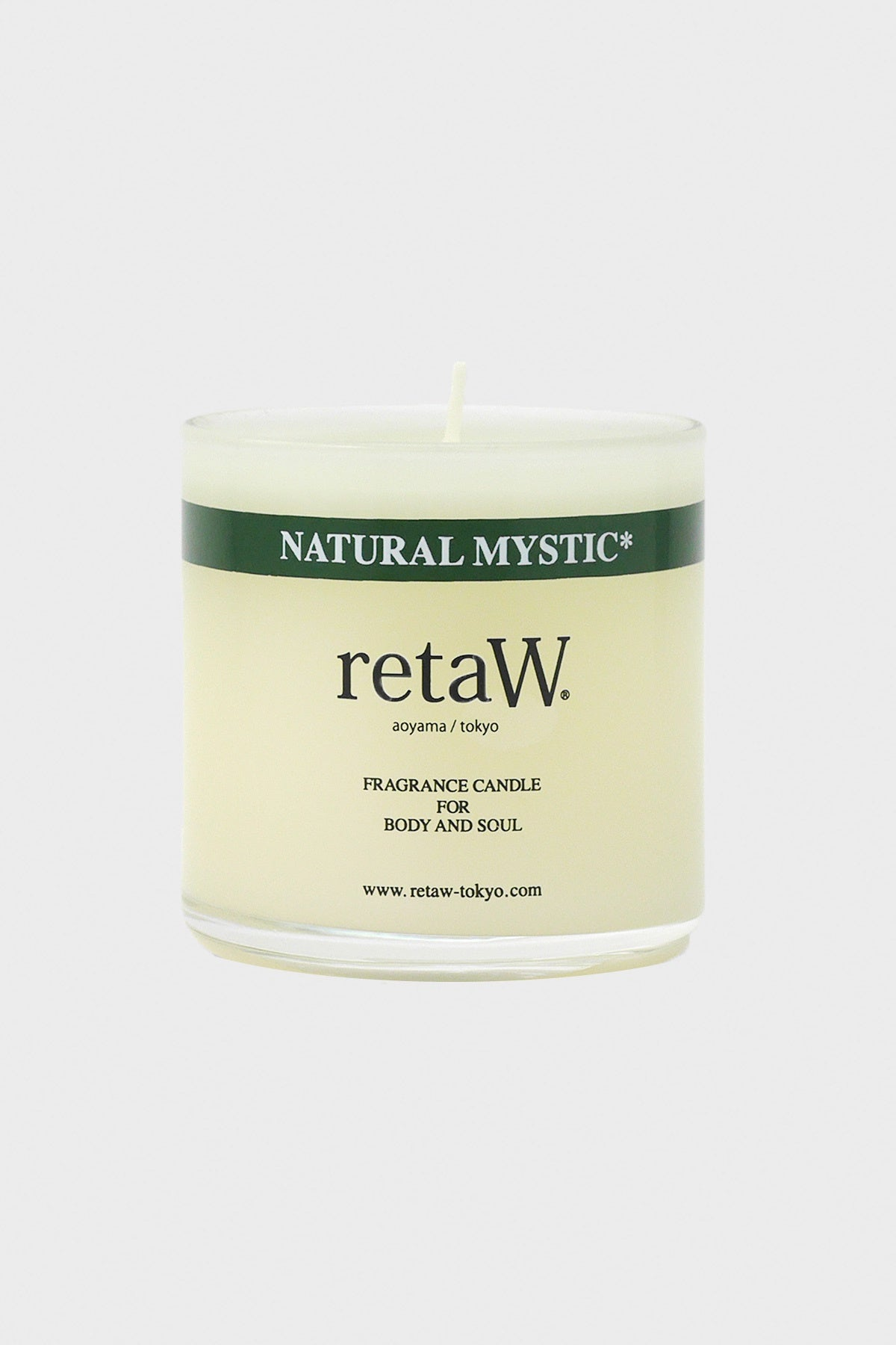retaW - Fragrance Candle - Natural Mystic - Canoe Club