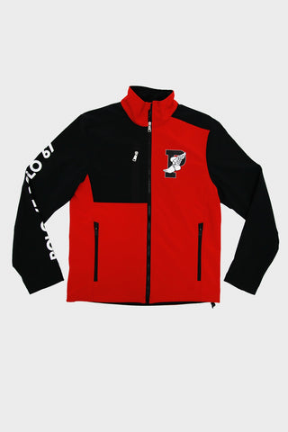 P-Wing Barrier Soft Shell - Injection Red/Polo Black