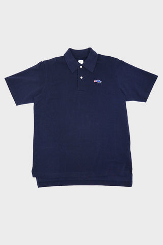 braggin' dragon Long Tail Polo - Navy