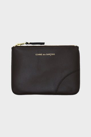 comme des garcons wallet Classic Leather Pouch - Brown
