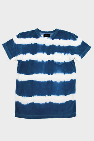howlin' by morrison Fons Hand Dyed Stripes - Paradise Blue