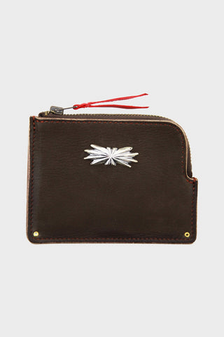 Deer Skin Multi Wallet L-Zip - Brown