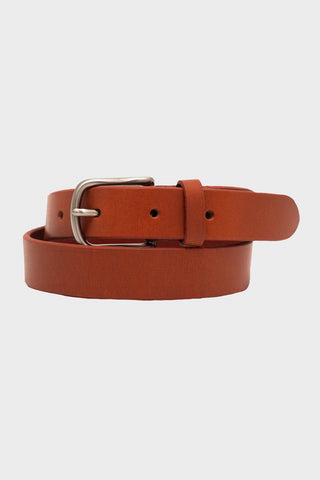laperruque Belt - Gold Leather and Nickel Buckle