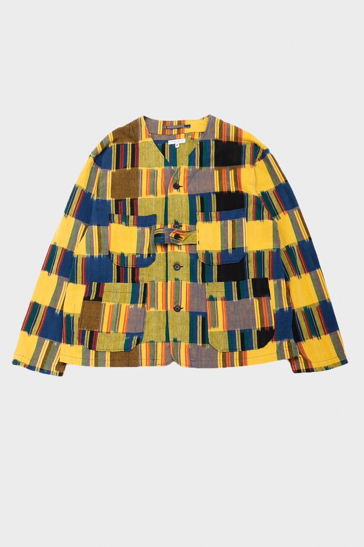 Engineered Garments - Cardigan Jacket - Multicolor Ikat - Canoe Club