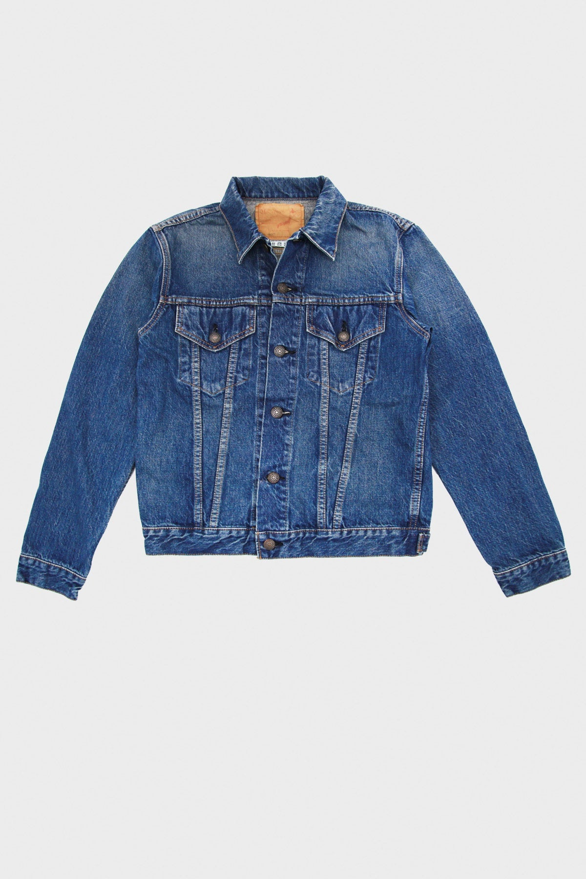 orSlow - 60s Denim Jacket - 2 Year Wash - Canoe Club