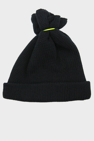 hender scheme bundle cotton knit cap - black