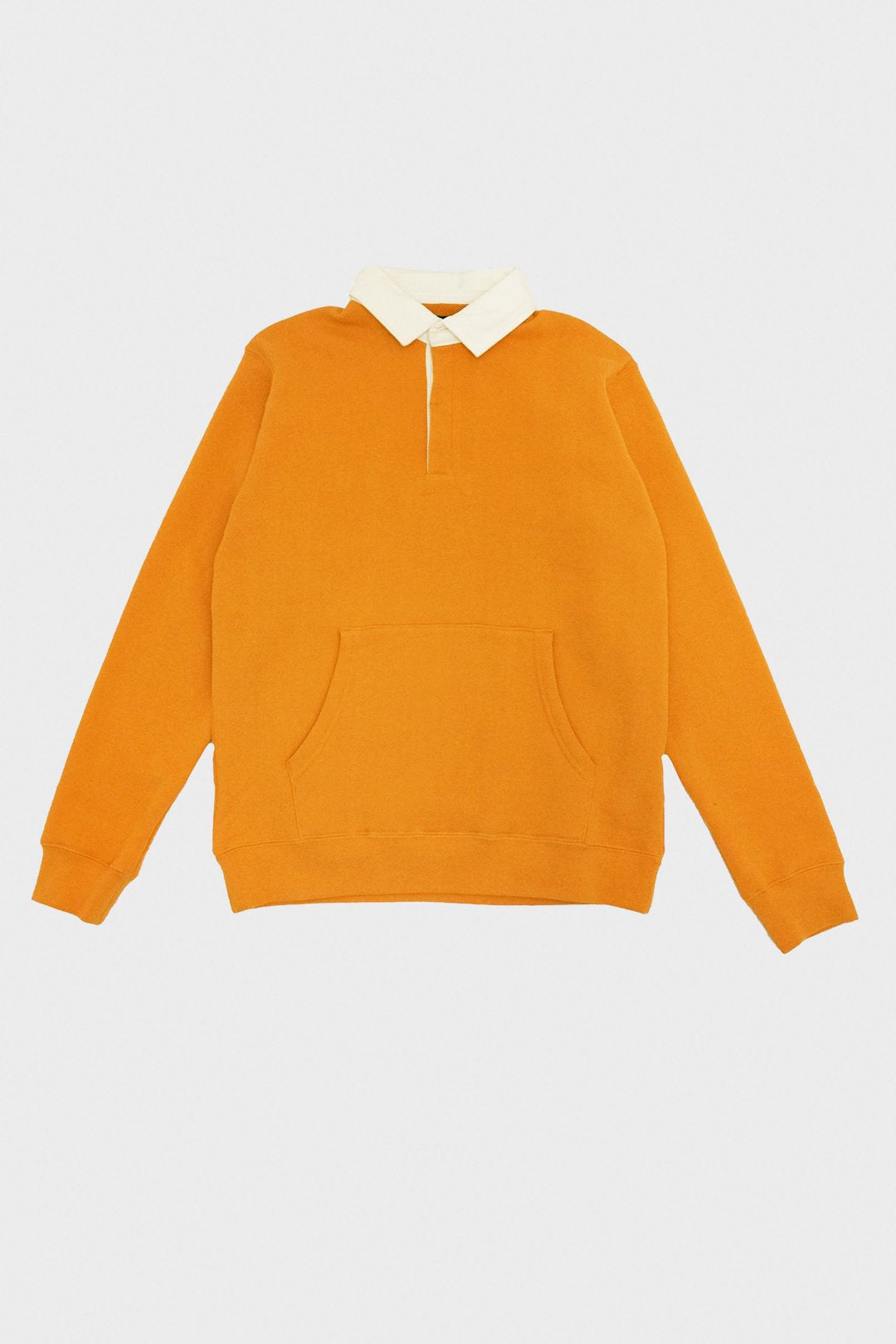Beams Plus - Rugger Shirt Cotton Fleece - Yellow - Canoe Club