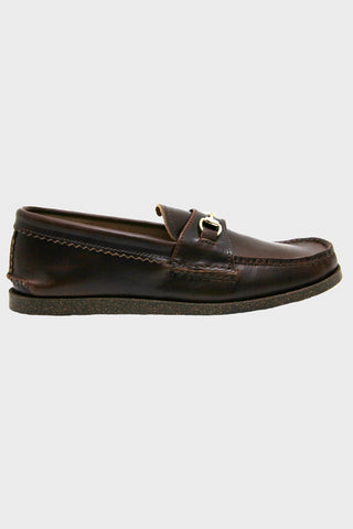 yuketen Bit Loafer with Camp Sole - Brown