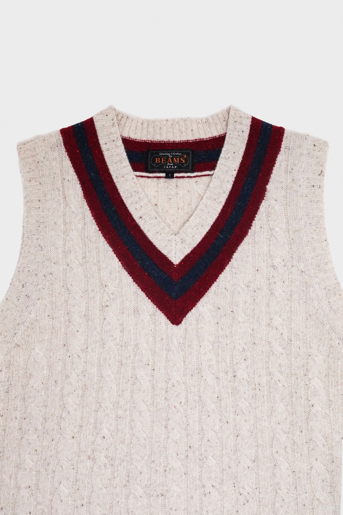 Beams Plus - Cricket Vest - Off White - Canoe Club