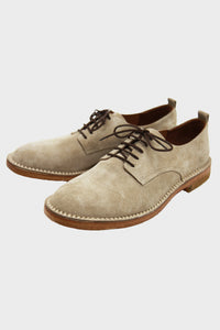 Chester Shoe - Nude Suede