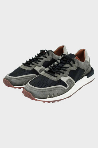 buttero Futura Sneaker - Lead Grey