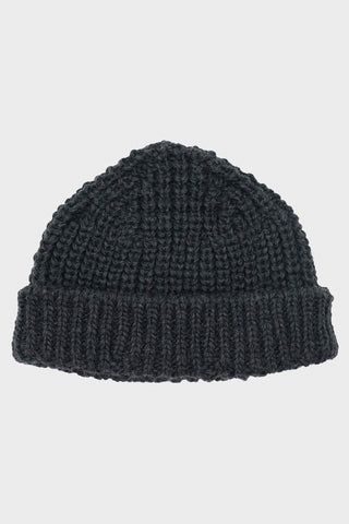 British Wool Short Hat - Grey