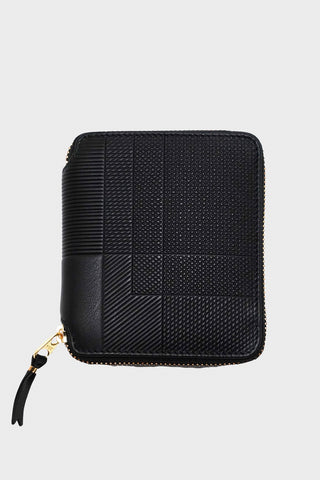 comme des garcons wallet Intersection Wallet - Black