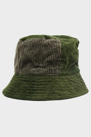 engineered garments Bucket Hat - Olive Cotton 8W Corduroy
