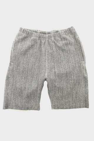 orslow sweat shorts in heather grey