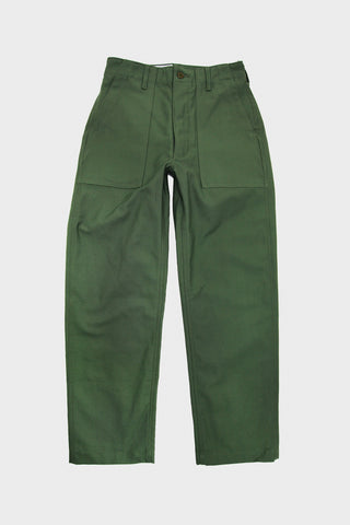 Fatigue Pant - Olive Reversed Sateen