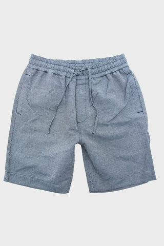 Jay Skate Short - Navy Pin Check