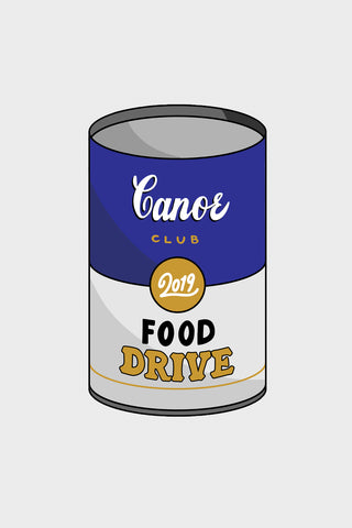 Virtual Canned Good - $3 Food Pantry Donation