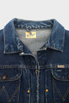 Wrangler Zip Up Denim Jacket 2
