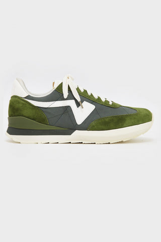 visvim FKT Runner shoes - Olive