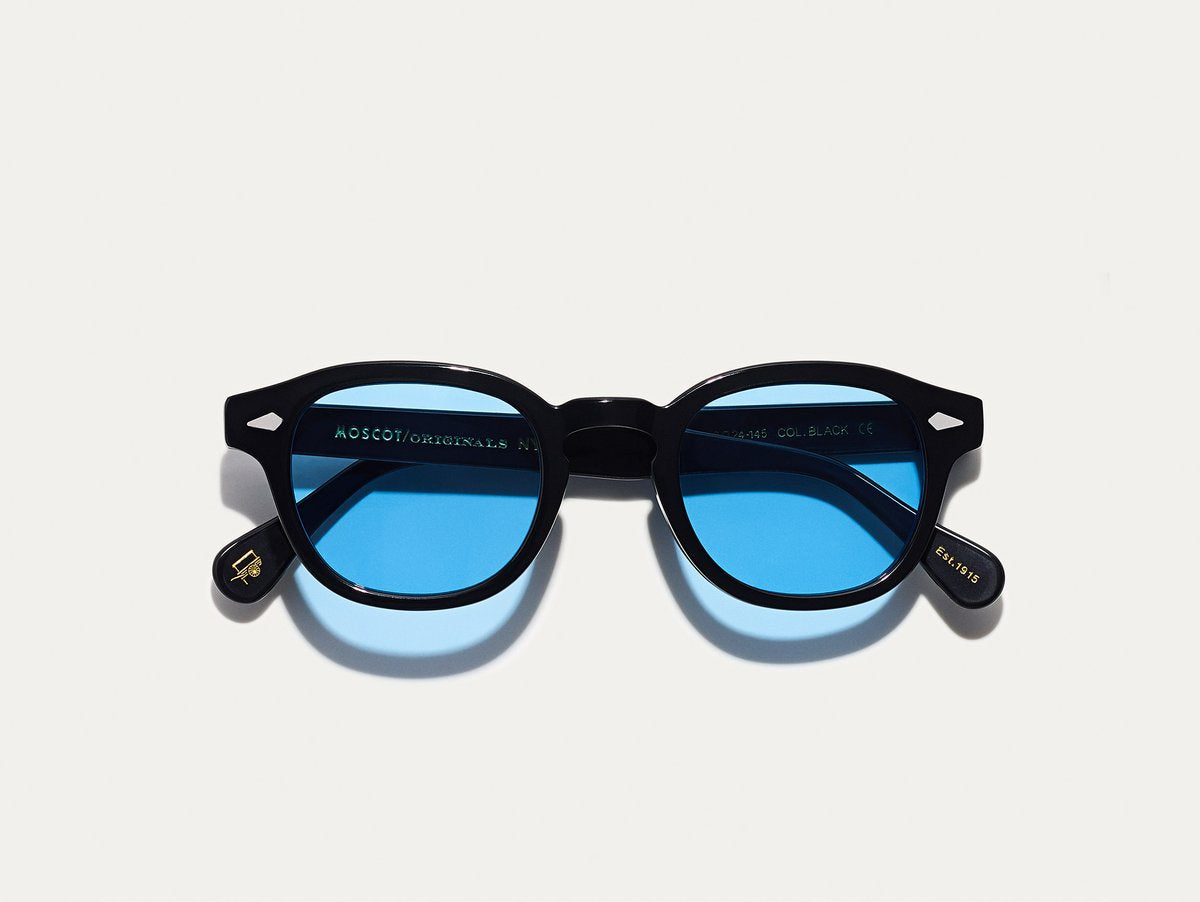 Moscot - Lemtosh - Black with Celebrity Blue Tint - Canoe Club