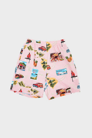 go barefoot Hawaii Must See Cruizing Shorts - Coral