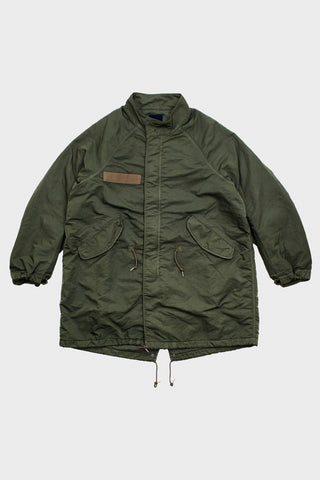 visvim indigo camping trading post find your happiness I.C.T. Six-Five Fishtail Parka - Olive