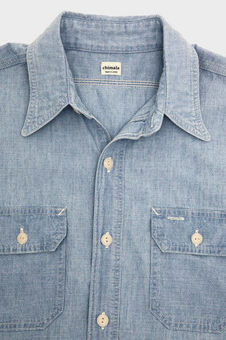 Chimala Chambray Work Shirt- Used Wash