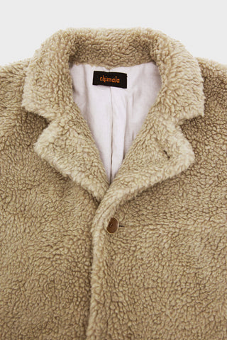 Faux Fur Coat - Mocha