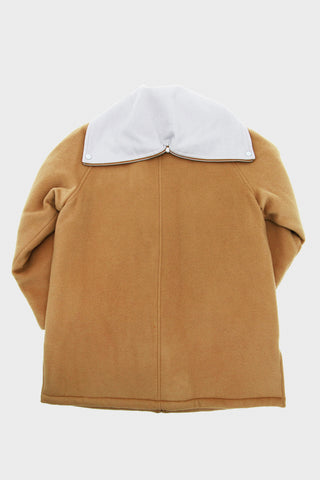 Melton Wool Cadet Jacket - Camel
