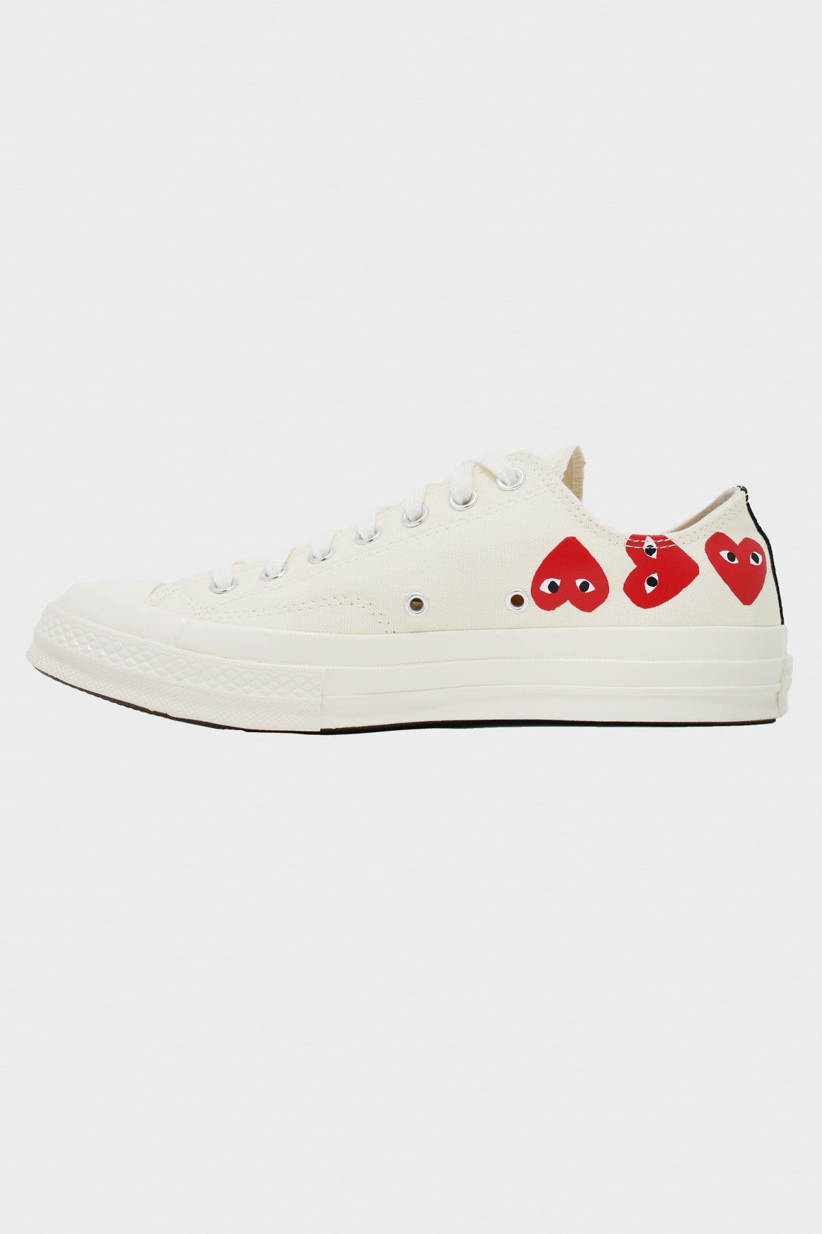 Comme des Garçons PLAY - CdG PLAY x Converse Chuck Taylor Lo - Off White - Canoe Club