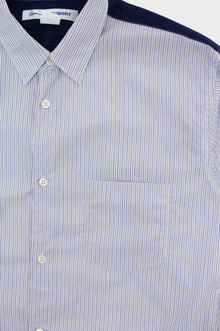 comme des garcons shirt Stripe/Houndstooth Shirt - Stripe Mix