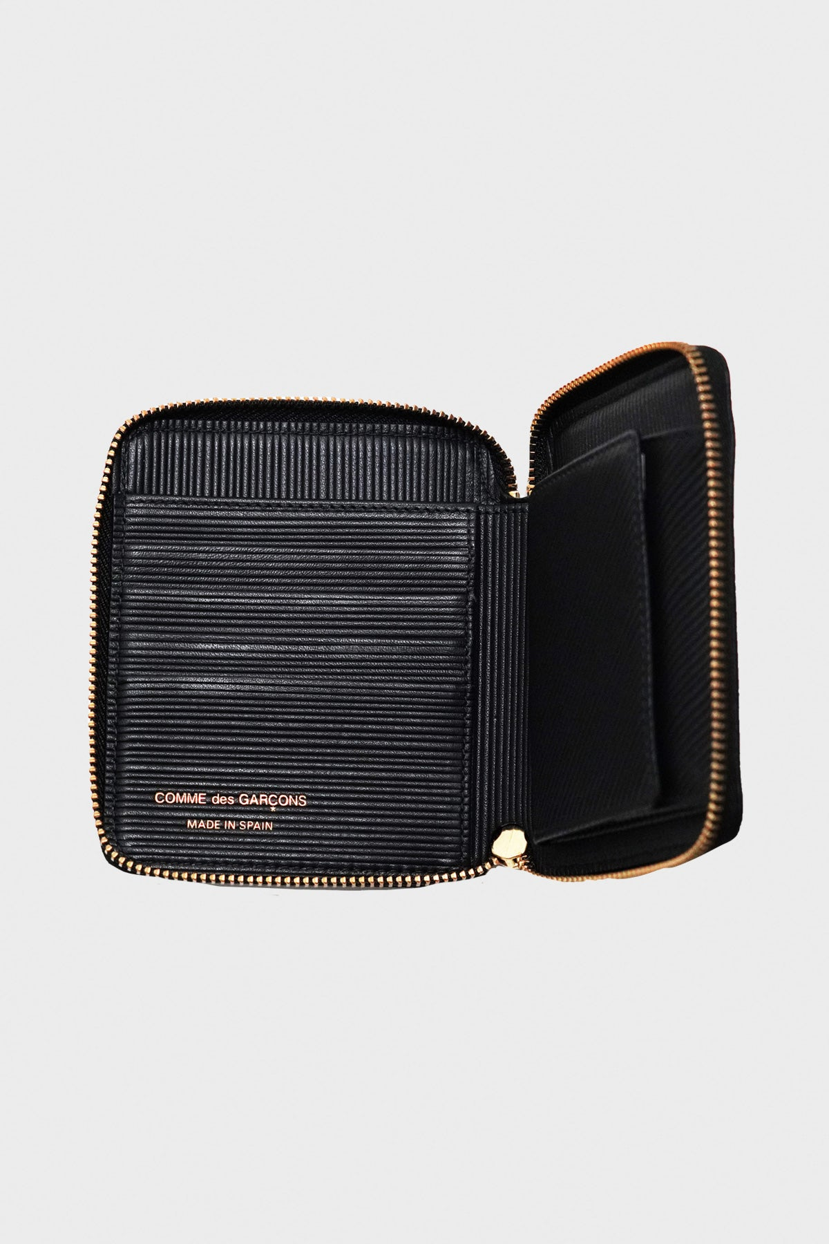 Comme des Garçons WALLET - Intersection Wallet - Black - Canoe Club